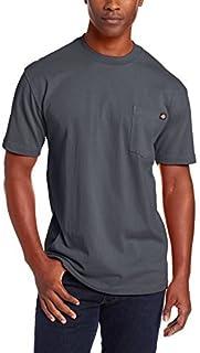 Dickies Men's Short Sleeve Heavyweight Crew Neck Pocket T-Shirt