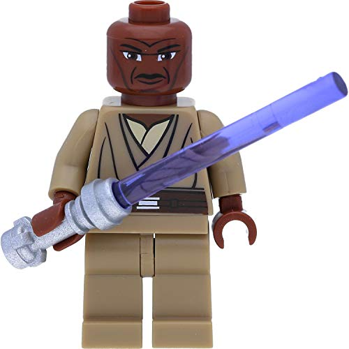 LEGO Star Wars Minifigur: Jedi Mace Windu mit Laserschwert (The Clone Wars)