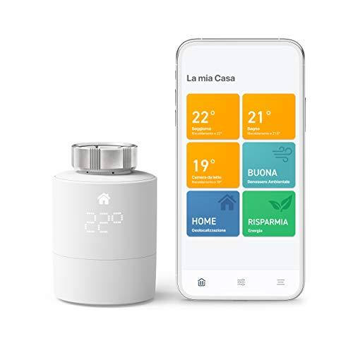 tado° Testa Termostatica Intelligente Kit di Base V3+ - Gestione intelligente del riscaldamento, facile installazione fai da te, Progettato in Germania