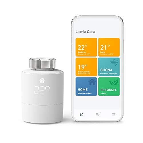tado° Testa Termostatica Intelligente Kit di Base V3+, Gestione...