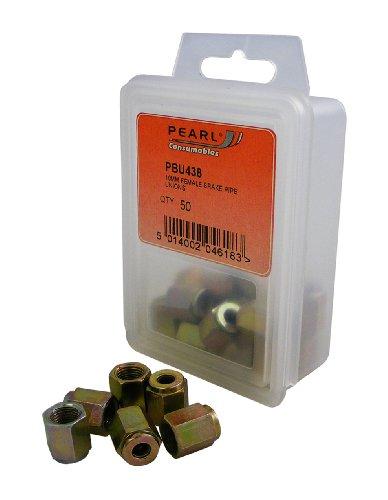 Pearl PBU438 - Juntas Hembra para Tubo de Freno (M10, 50 mm, PP55)