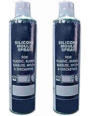 Thermo 2 Piece Silicon Mould Spray (550ml) for Plastic, Rubber, Bakelite, Nylon & Diecasting - (2)