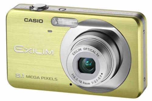 Casio EXILIM EX-Z80 GN Digitalkamera (8 Megapixel, 3-fach opt. Zoom, 2,6