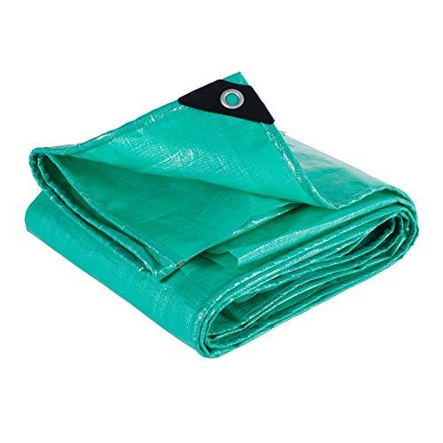 ZHANGGUOHUA ¡Cubrir!Lona 4 X 4 M [180 G / M2] Lona con Ojales De Metal For Muebles De Jardín, Piscina, Coche, Camión, Lona Impermeable Y Resistente (Color : Green, Size : 2X3m)