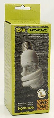 Komodo Compact Lamp Uvb 10.0 ES, 15 Watt