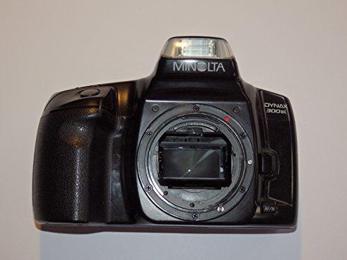 MINOLTA DYNAX 300si - SLR Camera - analoge Spiegelreflexkamera - nur Body/Gehaeuse Farbe: schwarz ## Technik - getestet - funktioniert - by LLL Group ##
