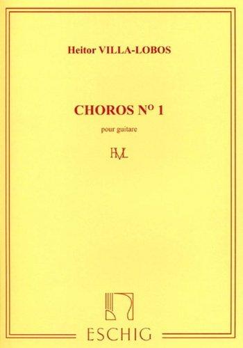 Choros No1 - Guitare