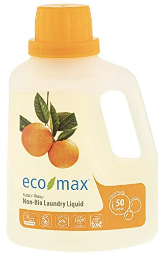Eco-Max Laundry Detergent 50 Wash - Orange 1.5Ltr
