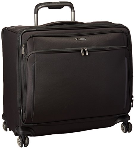 Samsonite Silhouette XV Softside Luggage with Spinner Wheels, Black, Large Glider Case