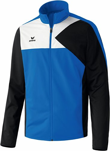 erima Erwachsene Anzug Premium One Jacke, New Royal/Schwarz/Weiß, L