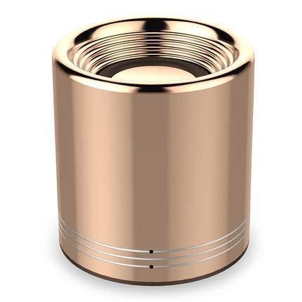 Altoparlante Bluetooth Volcanic Bluetooth altoparlante wireless audio mini pistola d'acciaio personalizzazione, Golden