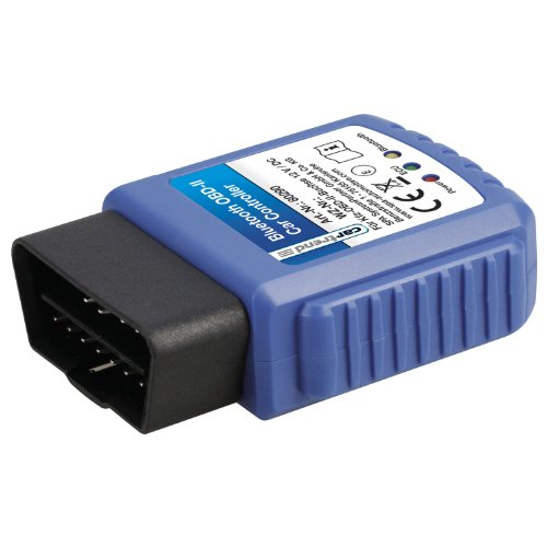 Cartrend 80290 Bluetooth OBD-II Car Controller, für Android Smartphones, Tablets und PC inklusive App