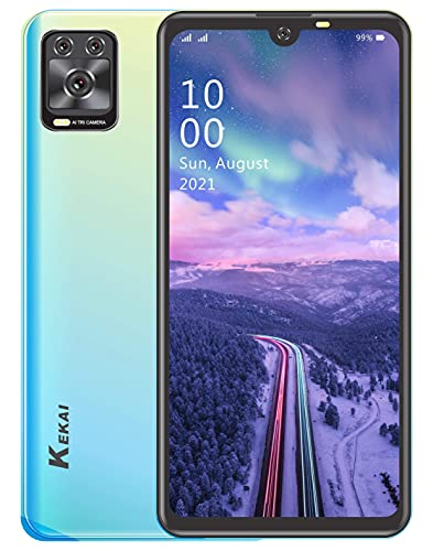 Xifo Kekai Prime-5 with 6.26 inch (2 GB 32 GB) 4G Volte Smartphone (Electric Green)