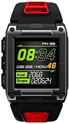 Relojes inteligentes reloj deportes hombres s piscina al aire libre 1 3In brújula correr IP68 impermeable Bluetooth ritmo cardíaco reloj smartwatch puede Android iOS versión