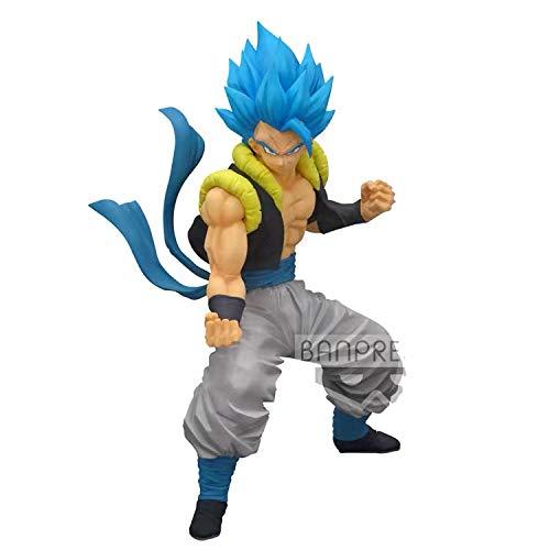 Dragonball Z Banpresto Figur Dokkan Battle 5th Anniversary Gogeta Blue PVC Action Figur