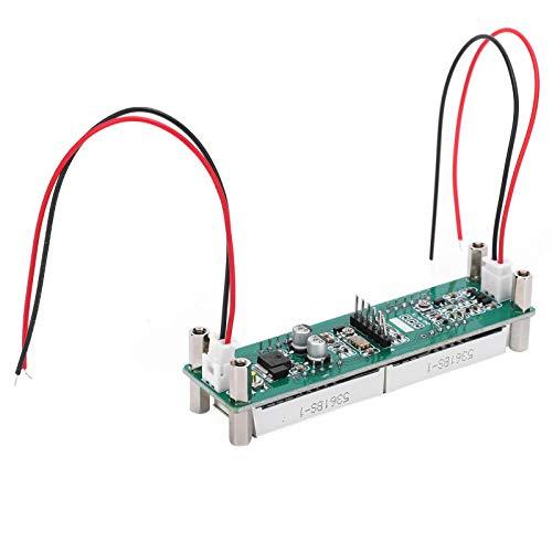 Módulo de medición de frecuencia, contador de señal RF de pantalla PCB, alta impedancia 0.1MHz ~ 65MHz, para mostrar el valor de frecuencia de transceptores, medición de frecuencia de rutina(rojo)