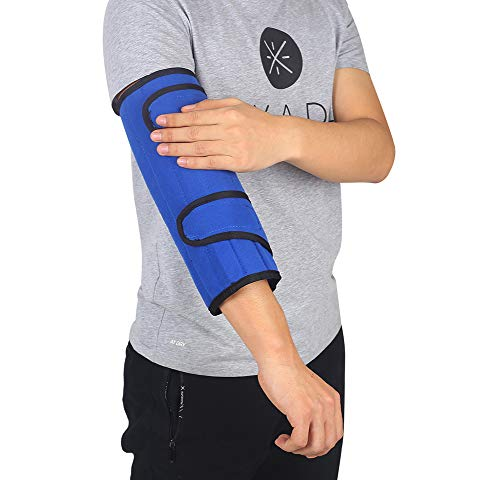 Elbow Brace Immobilizer Elbow Splint Arm Ulnar Nerve Brace Support Cubital Tunnel Fracture Elbow Braces Medical Stabilizer for Men Womens Youth Large Pm Night Time Sleeping Immobilizing Equipment (L)