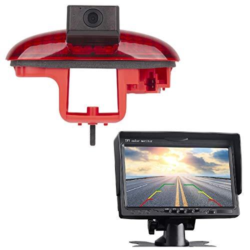Cámara de visión trasera HD 720p a color 3ª luz de freno