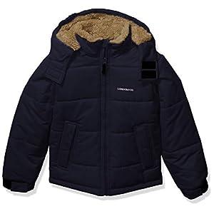 LONDON FOG Boys' Big Active Puffer Jacket Winter Coat