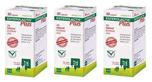 enterolactis plus 30 cps (3 confezioni)