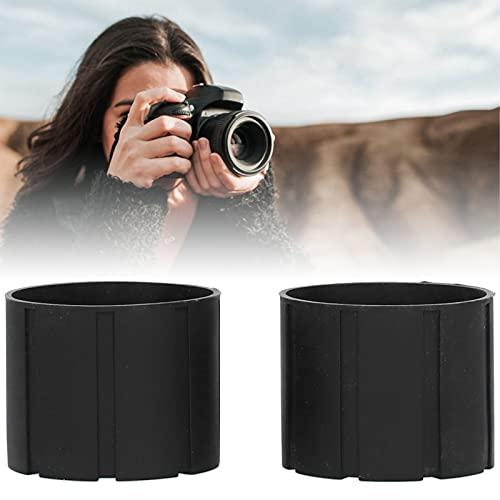 KAKAKE Objectif en Silicone, Aucune déformation Anti-Rayures Petits et légers Accessoires d appareil Photo pour Tous Les appareils Photo Reflex numériques pour Garder la poussière de Votre