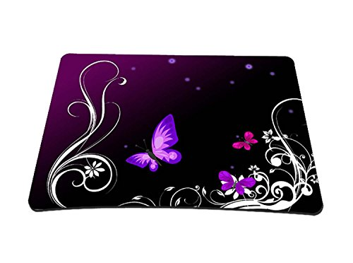 Tapis de souris Motif papillon Violet