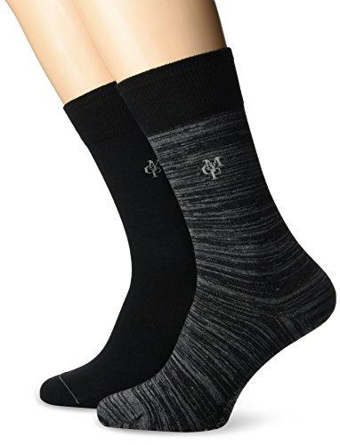 JONTE Legwear M-Socks 2-pack Herren socken, mehrfarbig, 43/46 (Herstellergröße: 406), 155624