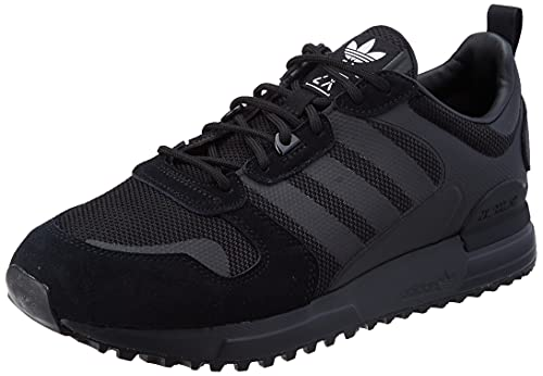 adidas ZX 700 HD, Scarpe da Ginnastica Uomo, Core Black/Core Black/Ftwr White, 44 EU