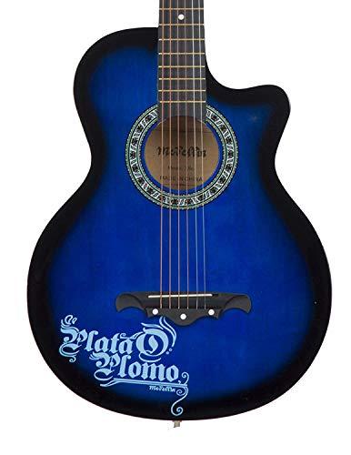 Medellin MED-BLU-C Linden Wood Acoustic Guitar