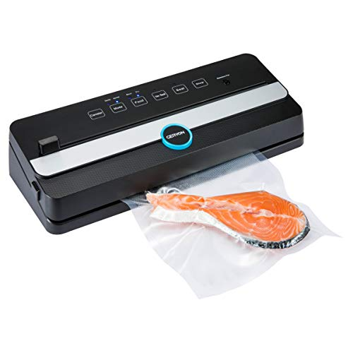 commercial GERYON Vacuum Sealer, Automatic Food Sealing Machine with Built-in Cutter | Starter… vacuum sealers