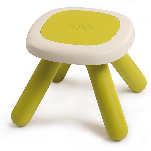 Smoby-3032168802018 Mesa/Taburete Infantil, Color Verde (880