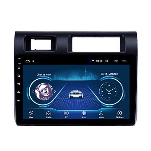 Dscam Car Stereo Android 9.1 Car Radio de navegación GPS para Toyota Land Cruiser 2015 9 Pulgada Pantalla LCD Táctil 4.0 Bluetooth Llamadas Manos Libres,2G+32G-Quad-Core