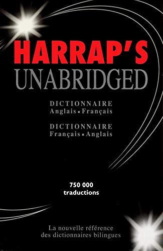 Harrap's Unabridged : Anglais/français, français/anglais (coffret)