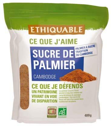 Ethiquable Sucre de Palmier Cambodge Bio 400 g