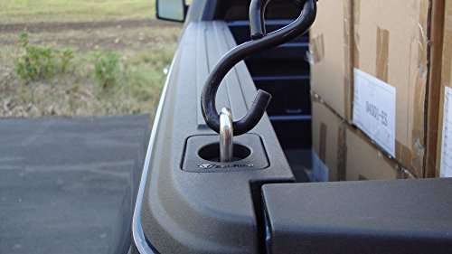 Bull Ring Flush Fit Retractable Truck Tie Down Anchors 4025-2 2 Pair | '15-'21 F150 |'17-'21 Super Duty