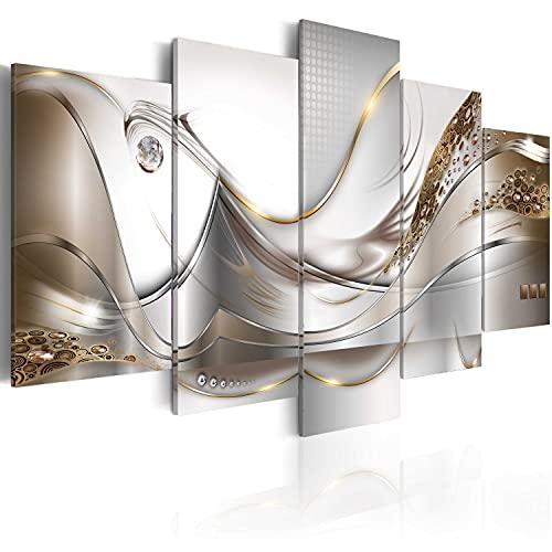 murando - Cuadro de Cristal acrílico 200x100 cm Impresión de 5 Piezas Pintura sobre Vidrio Imagen Gráfica Decoracion de Pared a-A-0004-k-o