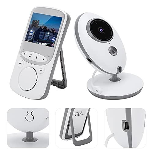 Supervisión del bebé, Material del ABS de la Pantalla LCD del Monitor del bebé de 2,4 Pulgadas para el hogar(Transl)