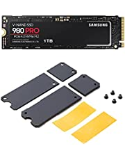Samsung 980 PRO 1TB PCIe Gen 4.0 x4 NVMe M.2 (2280) 内蔵 SSD MZ-V8P1T0B/ECとITGマーケティング M.2 SSD用ヒートシンク セパレートタイプ SMOP-SHS 【対応製品】Samsung NVMe SSD(M.2) 980 PRO/980/970 EVO Plus/970 EVOのセット