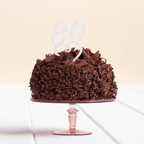 Directly Personlaised 80 Anniversaire de fête d'anniversaire Anniversaire de Mariage Acrylique gâteau