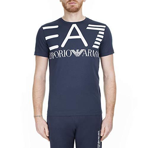 Armani Jeans Herren S2004760 Unterhemd, Azul Marino, XL