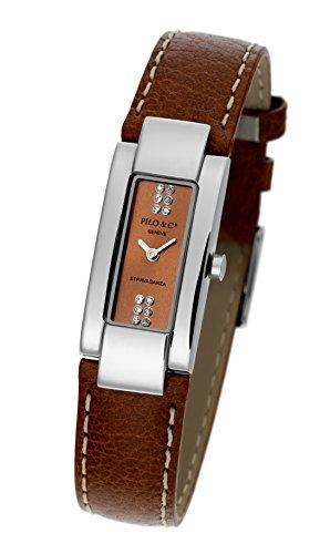 Pilo & Co Swiss Stravaganza de cuarzo reloj de pulsera de mujer Colección p0060dqs