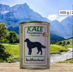 KALE Classic Rindfleischnapf Nassfutter Hund (12 x 400g)