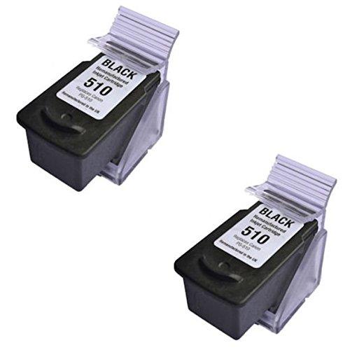 Prestige Cartridge PG-512 - 2 Cartucce d'Inchiostro Compatibile per Stampanti Canon Pixma Serie, Nero