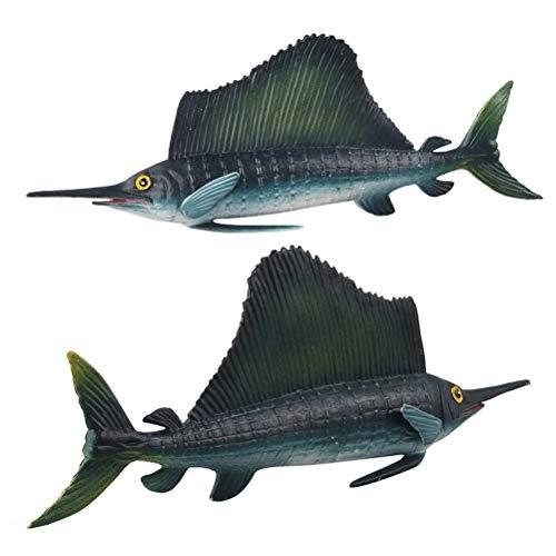Wiivilik Marine Organismo Sailfish Pesce Spada Modello in...