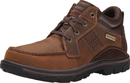 Skechers Relaxed Fit Segment - Melego Dark Brown 11