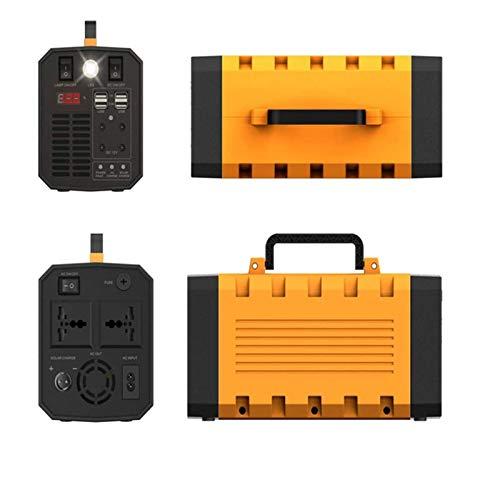 TWW Tragbarer 500-Watt-Generator Wiederaufladbarer Lithium-Akku Solargenerator Mit Netzunabhängigem USB-Ausgang