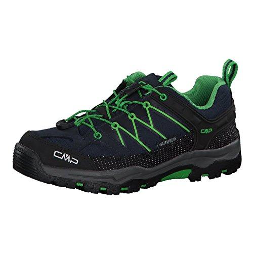 CMP Kinder Trekking Schuhe Rigel Low 3Q54554 B. Blue-Gecko 28