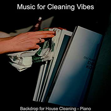Backdrop for House Cleaning - Piano