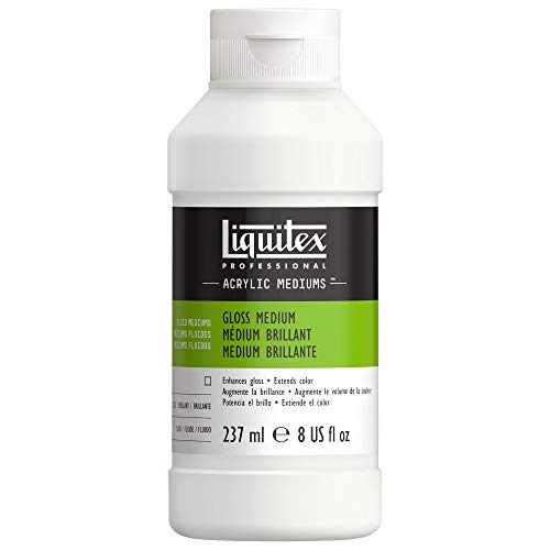 Liquitex Gloss Acrylic Fluid Medium and Varnish, 8-oz