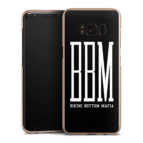 DeinDesign Handyhülle kompatibel mit Samsung Galaxy S8 Cover Gold Schutzhülle Spongebozz Bikini Bottom Mafia YouTube